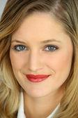 Close-up portrait of blond — Stock Photo