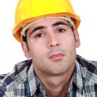 Stock Photo: Serious builder