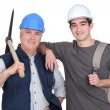 Team of labourers — Stock Photo #16350999
