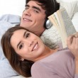 Couple relaxing — Stock Photo