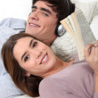 Couple relaxing — Stock Photo #16421563