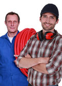 Handymen — Stock Photo