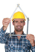 House builder — Stock Photo