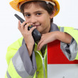 Construction worker — Stock Photo #16482587