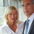 Stock Photo: Mature business couple