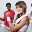 Women at the gym — Stock Photo #16497221