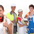 Manual workers — Stock Photo