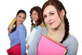 Meisjes uit klasse — Stockfoto