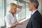Senior executives having heated debate — Stock Photo