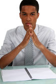 Pensive Executive — Stock Photo