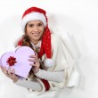 Merry Christmas honey — Stock Photo