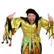 Court jester — Stock Photo