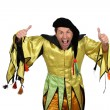 Court jester — Stockfoto