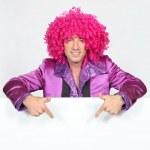 Man in disco costume — Stock Photo #16770479
