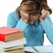 Child tired of studying — Stock Photo #16788031