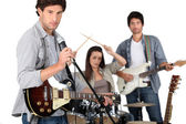Garage-band. — Stockfoto
