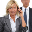 Mature business couple — Stock Photo #16802131