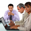 Business team at work — Stock Photo #16804891