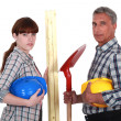 A team of tradespeople — Stock Photo #16806801