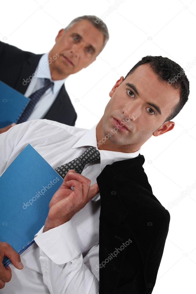 Two CEOs.  Stock Photo #16834349