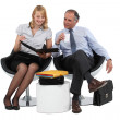 Coworkers — Stock Photo