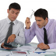 Two accountants at work. — Stock Photo #16850691