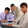 Business team having discussion — Stock Photo #16851711
