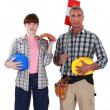 Construction workers — Stock Photo #16854303