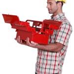 Craftsman toolbox — Stock Photo #16855203