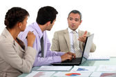 Meeting in the office — Fotografia Stock