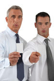 Determined businessmen — Stock Photo