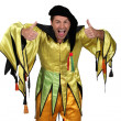 Stock Photo: Man in costume
