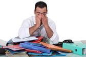 Trabajador cansado — Foto de Stock