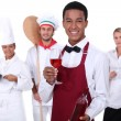 Stock Photo: Catering industry