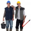Royalty-Free Stock Photo: Construction workers