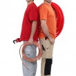 Two plumbers — Stock Photo #17121077