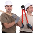 Construction workers — Stock Photo #17124971