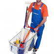 Man in a DIY store — Stock Photo #17125095