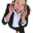 Royalty-Free Stock Photo: Telephone operator
