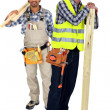 Two woodworkers - Foto de Stock