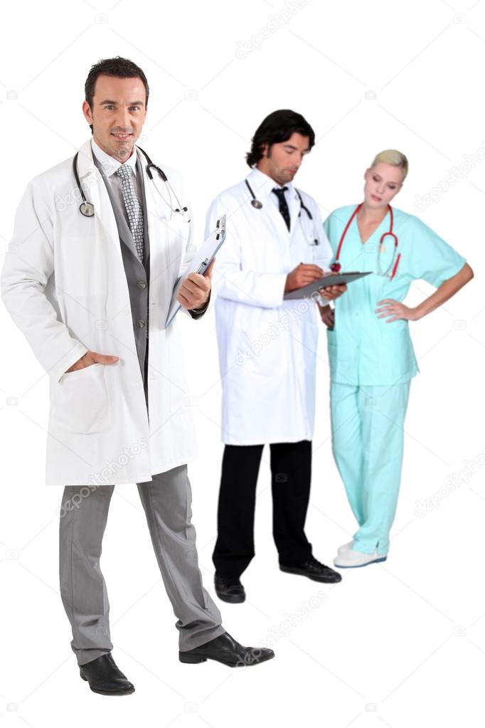 Medical staff — Stock Photo #17621885