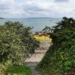 Stock Photo: Path down to seafront