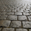 Stock Photo: Cobbled street