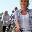 Seniors bike — Stock Photo #18411587