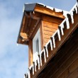 Stock Photo: Winter chalet