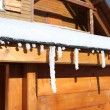 Wooden chalet — Stock Photo
