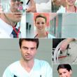 collage de salud escenas — Foto de Stock   #18435231