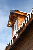 Winter chalet — Stock Photo