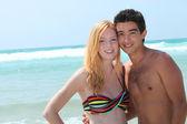 Teens at the beach — Stock Photo