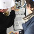 Electrical Work — Stock Photo #18443401